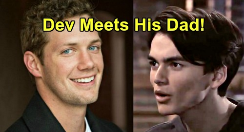 General Hospital Spoilers: Dev Meets His Dad – Brando Corbin's Survival Complicates Sonny's Plan, Dev's Life At Risk