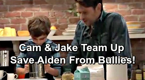 General Hospital Spoilers: Cameron and Jake's Desperate Plan to Help Aiden – Brothers Team Up to Save Tormented Kid from Bullies