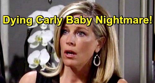 General Hospital Spoilers: Dying Carly Brings Jax Home, Tragic Baby Nightmare – Sonny's Stroke Fears Come True