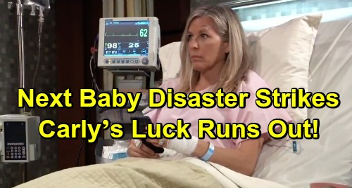 General Hospital Spoilers: Miscarriage Fears Grow for Carly – Next Baby Disaster Strikes, Mom's Luck Runs Out?
