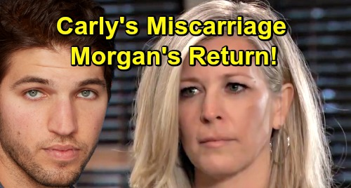 General Hospital Spoilers: Carly's Pregnancy Miscarriage Story Sets Up Morgan's Return - Loses Baby, But Gets Beloved Son Back?