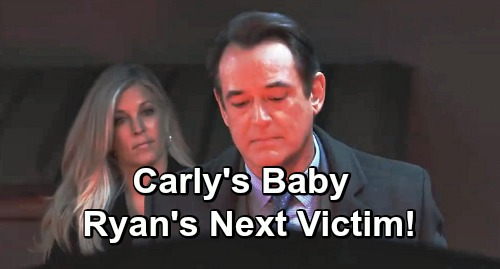 General Hospital Spoilers: Carly's Unborn Baby Becomes Ryan's Next Victim?