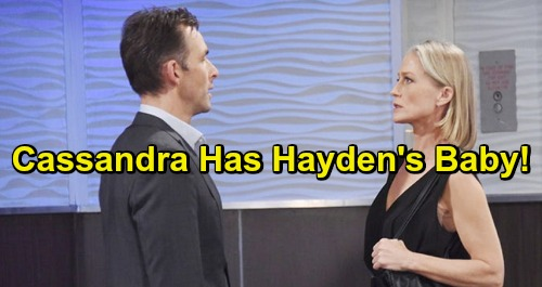 General Hospital Spoilers: Cassandra Has Hayden's Baby - Desperate Mom Forced Into Valentin Takedown