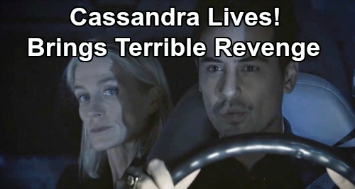 General Hospital Spoilers: Is Cassandra Alive and Behind Corinthos Family Attacks – Step One of Brutal Revenge Mission?