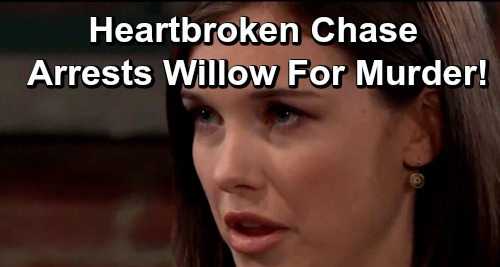 General Hospital Spoilers: Heartbroken Chase Arrests Willow for Murder – Shiloh's Dirty Tactic Brings Him Closer to 'Wiley'