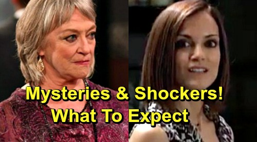 General Hospital Spoilers: Comings and Goings – Veronica Cartwright's Creepy Character – Secretive Hayden Back with Surprise Agenda