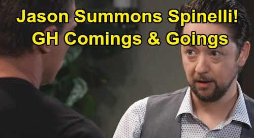 General Hospital Spoilers: Comings and Goings – Spinelli Returns for Jason's Drew Mission – One Baddie's Big Comeback