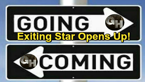General Hospital Spoilers: Comings and Goings – Exiting GH Star Opens Up – Shocking Return Brings Drama for Sam