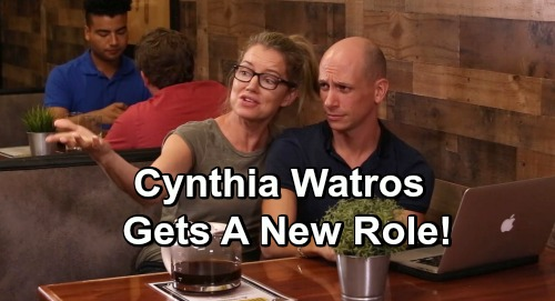 General Hospital Spoilers: Exciting New Role for Cynthia Watros – Blast from the Past for Guiding Light Fans