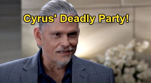 General Hospital Spoilers: Cyrus Sinister Housewarming Party Ends in Murder – Laura & Other Targets in Grave Danger?