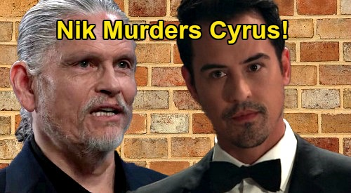 General Hospital Spoilers: Nikolas Kills Cyrus – Dark Prince Murder Shocker?