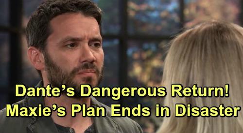General Hospital Spoilers: Dante's Dangerous Return, Maxie's Plan Ends in Disaster – Brainwashing Brings Terrible Outcome