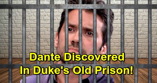 General Hospital Spoilers: Sonny Fights to Save Captive Son - Dante Held in Same Prison Duke Lavery Was In?