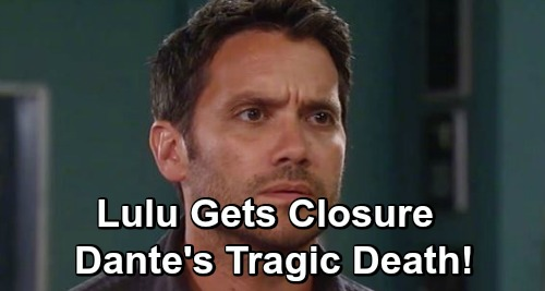General Hospital Spoilers: Dominic Zamprogna Returns for Closure – Dante's Tragic Death, Lulu Loses Her Love?