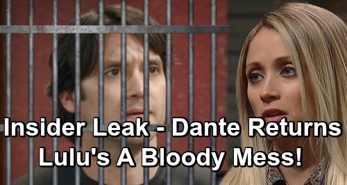 General Hospital Spoilers: Ryan Attack Leaves Lulu A Bloody Mess - Leaked Casting Info Shows Prisoner Dante Escapes, Returns