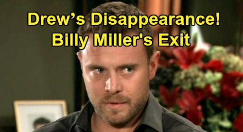 General Hospital Spoilers: Drew's Sudden Disappearance – Billy Miller's Exit Brings Sam and Jason's Mystery, Sets Up Recast?