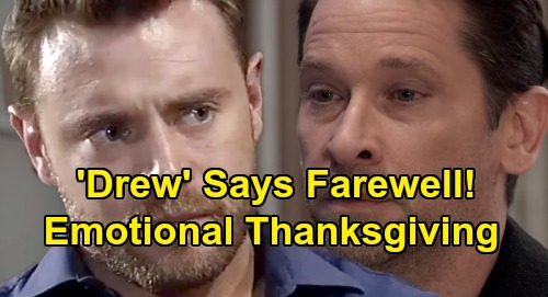 General Hospital Spoilers: 'Drew's' Heartbreaking Thanksgiving - Celebrates With The Quartermaines During Emotional Farewell