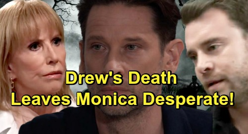 General Hospital Spoilers: Drew's Death Leaves Monica