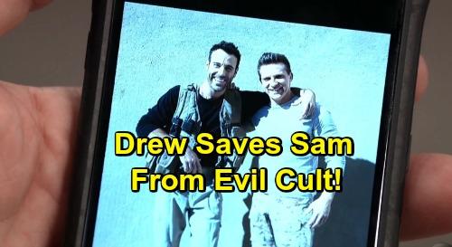 General Hospital Spoilers: Hero Drew Steps Up After Shiloh Shocker – Saves Sam From Cult