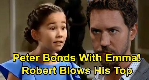 General Hospital Spoilers: Emma Scorpio Drake Bonds With Peter, Robert Blows His Top – Protective Anna Ignores Danger