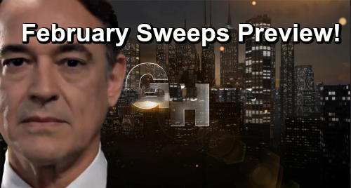 General Hospital Spoilers: February Sweeps Preview – Ryan's Shocking End - See All The Port Charles Surprises