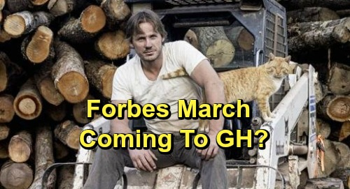 General Hospital Spoilers: Is OLTL Alum Forbes March Coming To GH - TPTB Working On Recast or Adding New Character?