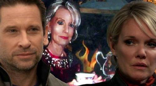 General Hospital Spoilers: Ava Ropes Franco Into Painting Her - Helena Cassadine Portrait Replaced - Liz Senses Evil Hidden Agenda