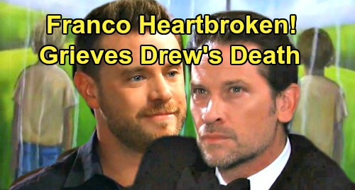 General Hospital Spoilers: Franco Heartbroken After Memory Procedure - Mourns Loss of Drew Cain, Dear Friend