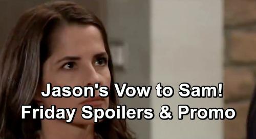General Hospital Spoilers: Friday, January 25 – Lulu Wakes Up – Jason's Vow To Sam - Robert Returns – Anna's Shocking Evidence