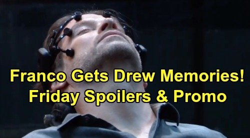 General Hospital Spoilers: Friday, August 9 – Drew's Memory Transfer to Franco Complete – Liz's Horror – Robert Furious with Peter