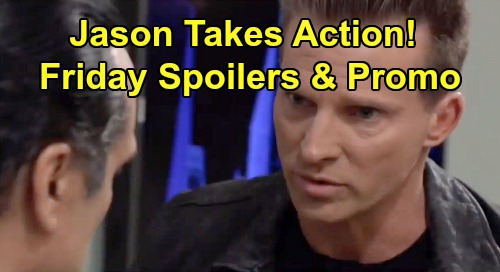 General Hospital Spoilers: Friday, December 6 – Drew's Gift To Oscar – Jason Takes Action – Willow & Chase's Kid Talk