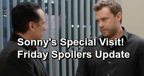General Hospital Spoilers: Friday, January 11 Update – Sonny Visits Drew For Dying Oscar – Ava's Trap For Kiki's Killer