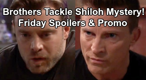 General Hospital Spoilers: Friday, July 19 - Ryan Terrifies Jordan - Shiloh On The Loose - Drew Presents a Puzzle To Jason