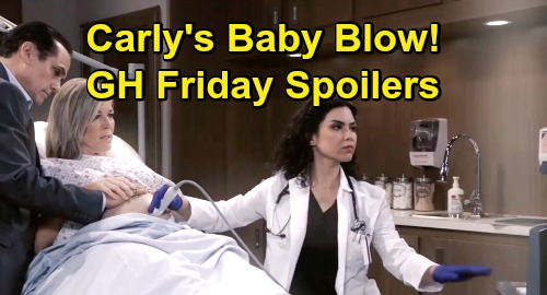 General Hospital Spoilers: Friday, July 26 – Carly Suffers Baby Blow – Nelle's Twisted Mind Games – Ava's Inner Demons