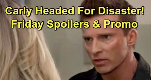 General Hospital Spoilers: Friday, March 1 – Franco's Bloody Confession – Jason Warns Carly of Danger – Peter's on the Hot Seat