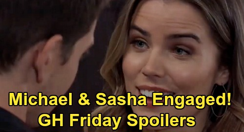 General Hospital Spoilers: Friday, March 13 – Michael & Sasha Engaged – Franco's Obrecht Arrest Shocker – Willow's Harmony Plans