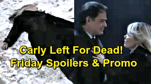 General Hospital Spoilers: Friday, March 8 – Carly Left For Dead, Ava Begs 'Kevin' – Jason Races Time – Sonny Fears Dante's Death