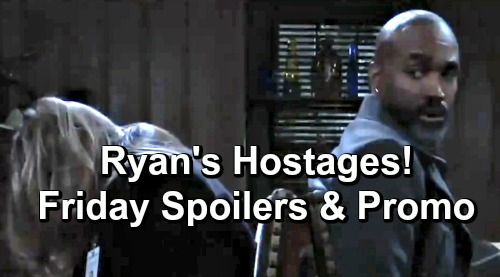 General Hospital Spoilers: Friday, May 17 – Carly Baby Gender Revealed - Nurses Ball Begins – Laura and Curtis are Ryan's Hostages