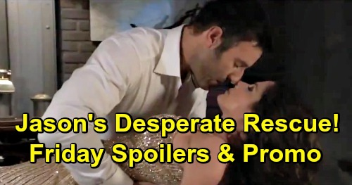 General Hospital Spoilers: Friday, May 24 – Fatal Shot Fired – Jason's Desperate Rescue - Ryan Is Jordan's Only Hope