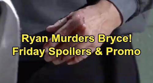 General Hospital Spoilers: Friday, October 18 – Bryce's Murder Blows Jason's Plan – Carly Demands Michael Dump Sasha
