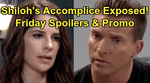 General Hospital Spoilers: Friday, October 4 - Lulu Wants To Come Clean - Shiloh's Accomplice Exposed - Jason Questions Dev