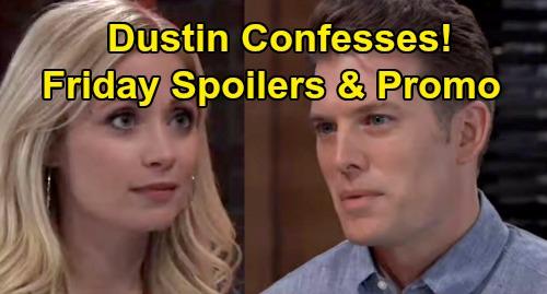 General Hospital Spoilers: Friday, September 13 – Stunning Cassadine Bombshell – Dustin Confesses to Lulu – Tamron Hall Guest Stars
