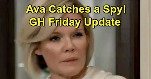General Hospital Spoilers: Friday, April 19 Update – Ava Catches a Spy – Michael's Bold Move – Maxie and Peter Demand Answers