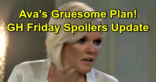 General Hospital Spoilers: Friday, April 5 Update – Ava's Gruesome Goal – Willow Must Grovel to Nina – Lucy's Dangerous Offer