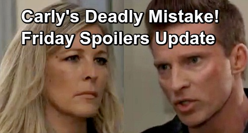 General Hospital Spoilers: Friday, March 1 Update – Carly's Deadly Mistake – Liz Faces Franco Shocker – Memory-Mapping Surprise