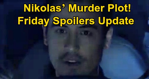 General Hospital Spoilers: Friday, November 8 Update – Nikolas' Murder Plot – Tony Jones Returns to Guide Lucas – Willow Defends Julian