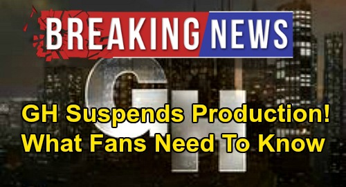 General Hospital Spoilers: GH Suspends Production, Coronavirus Forces Shutdown – What Fans Need to Know