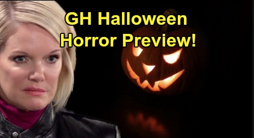 General Hospital Spoilers: Halloween Horror Preview – Masked Man Spooks Ava at the Gallery – The Haunted Star's Spirited Party