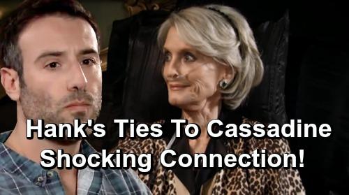General Hospital Spoilers: Hank's Startling Ties to Powerful GH Family Revealed - New Cassadine Bombshell?