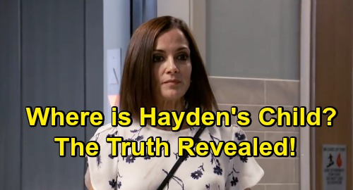 General Hospital Spoilers: Where Is Finn and Hayden's Child - Baby Truth Revealed
